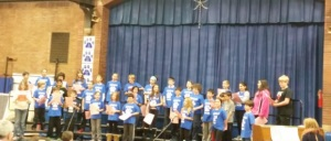 red white blues 5th graders