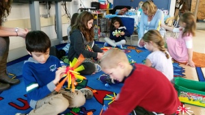"Indian Trail students stay warm with ""Frozen"" activities"