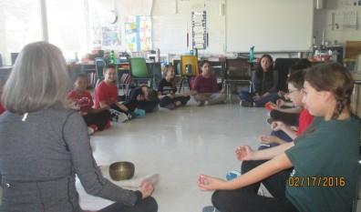 Wayne Thomas Students Focus on Mindfulness