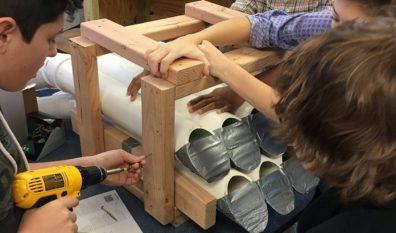 Elm Place Students Build Original Instruments
